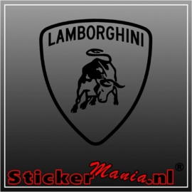 Lamborghini logo 1 sticker