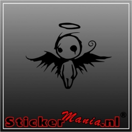 Dead angel sticker