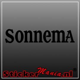 Sonnema logo sticker
