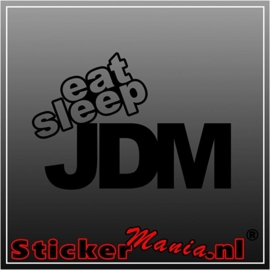 Eat sleep JDM 1 sticker