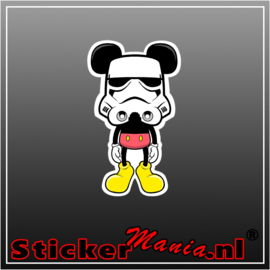 Mickey Darkfather Full Colour sticker