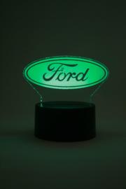 Ford logo led lamp