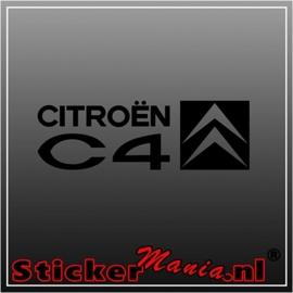 Citroën C4 sticker