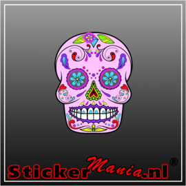Skull 3 Full Colour sticker