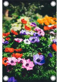 Tuinposter 'bloemen'