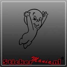 Casper het spook sticker
