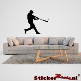 Muursticker honkbal 2