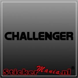 Dodge challenger 2 sticker