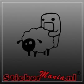 Domo & Sheep sticker