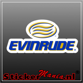 Evinrude 2 full colour sticker