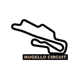 Mugello circuit op voet