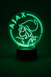 Ajax logo led lamp