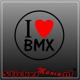 I love BMX sticker