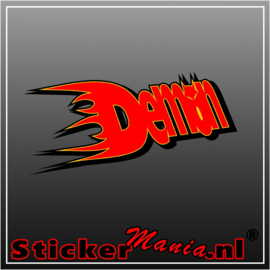 Demon Racing Full Colour sticker