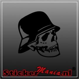 Skull 27 sticker