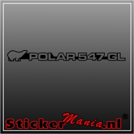 Polar 547gl sticker