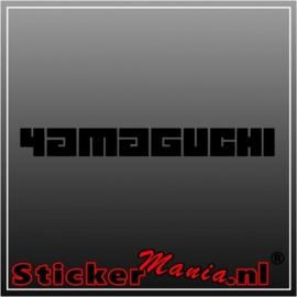 Yamaguchi sticker