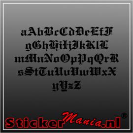 Eigen tekst lettertype Emgraves