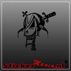 Skull 28 sticker