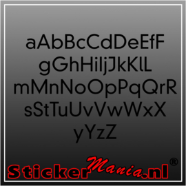 Eigen tekst lettertype Dinneuzeit
