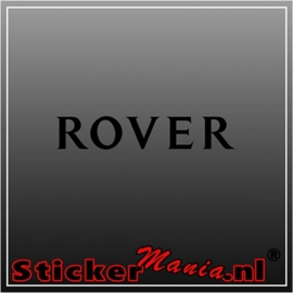Rover sticker