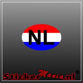 NL Rood Wit Blauw Full Colour sticker