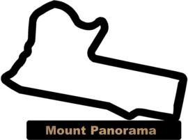 Mount Panorama op voet