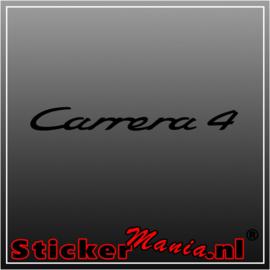 Carrera 4 sticker