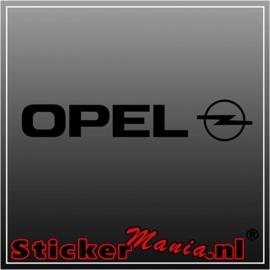 Opel sticker