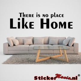 There is no place like home muursticker