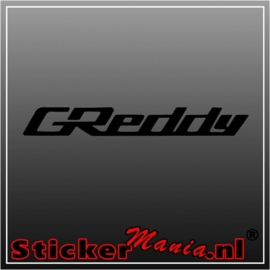 Greddy sticker