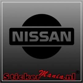Nissan logo sticker