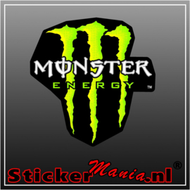 Monster energy full colour sticker