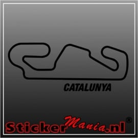 Catalunya circuit sticker