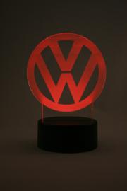 Volkswagen logo led lamp
