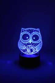 Uil led lamp