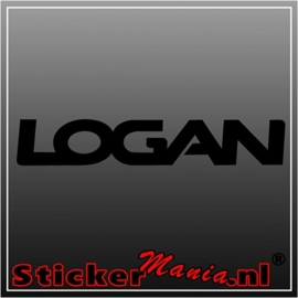 Dacia logan sticker