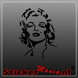 Marilyn monroe 3 sticker