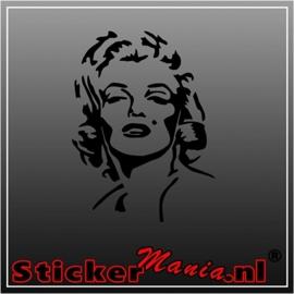 Marilyn monroe 3 sticker