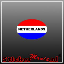 Netherlands Rood Wit Blauw Full Colour sticker