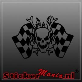 Skull 37 sticker