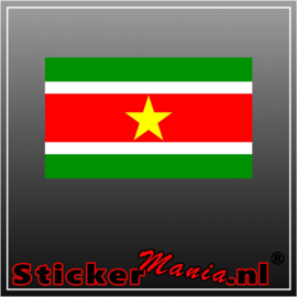 Suriname Full Colour sticker