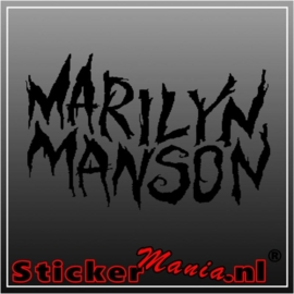 Marilyn manson sticker