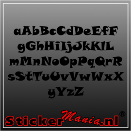 Eigen tekst lettertype Disney Comic