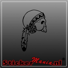 Skull 63 sticker