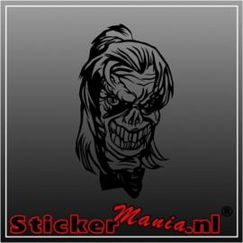 Skull 65 sticker