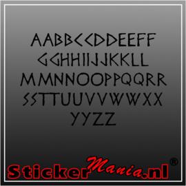 Eigen tekst lettertype Disney Heroic