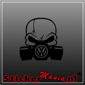 Volkswagen gasmask sticker