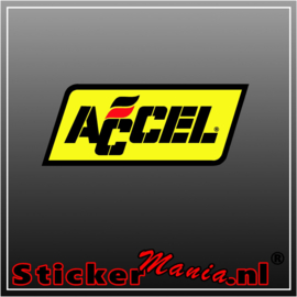 Accel Full Colour sticker