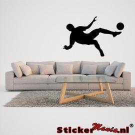 Muursticker voetbal 4